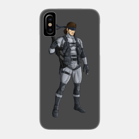 Metal Gear Solid 2 Phone Cases - iPhone and Android | TeePublic