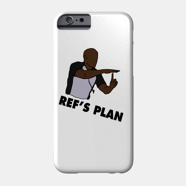 NBA Funny 'Ref's Plan' Design