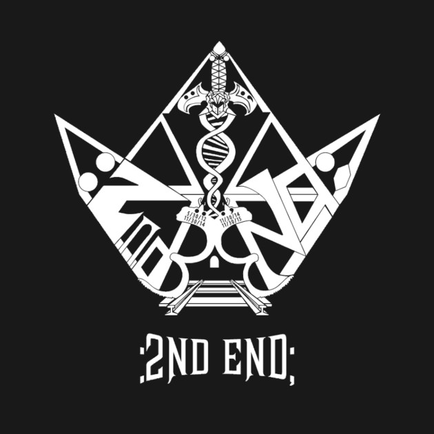 Official 2nd End White Crown Logo Link T Shirt Teepublic
