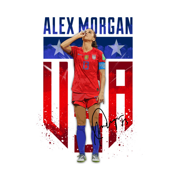 Alex Morgan Sipping Tea