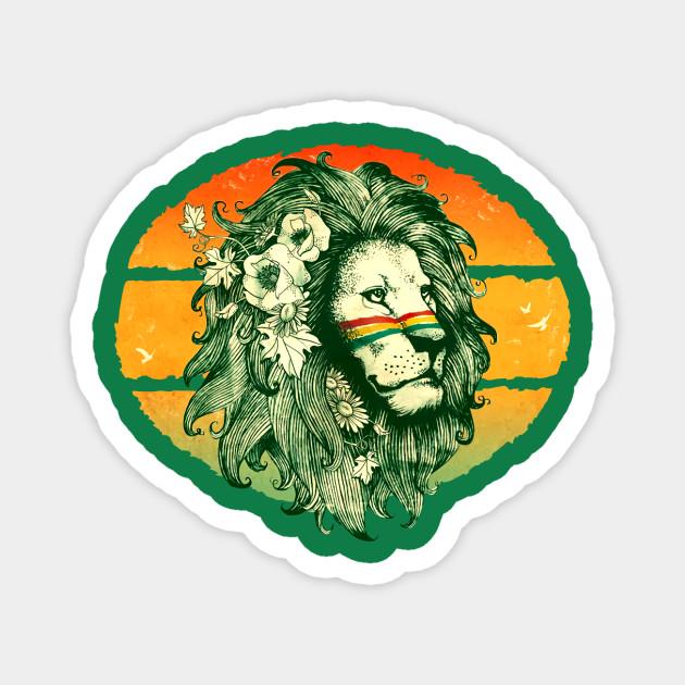 Reggae Sun ska Rebelution Lion Icon