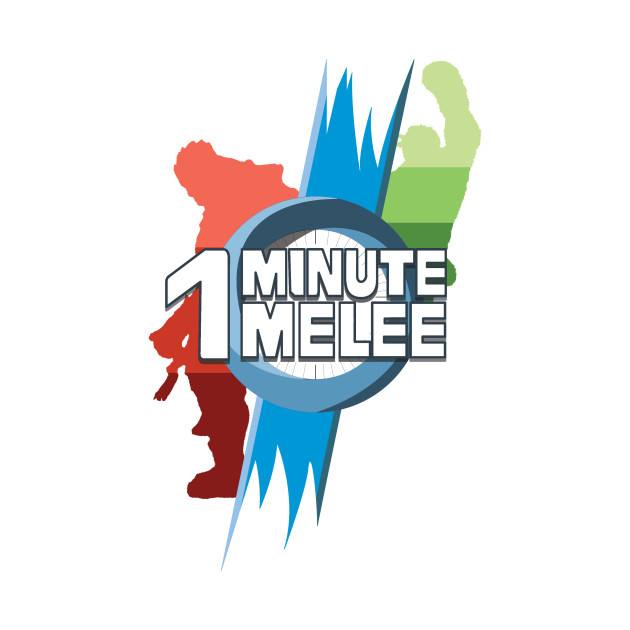 One Minute Melee - Red & Green Gradiant