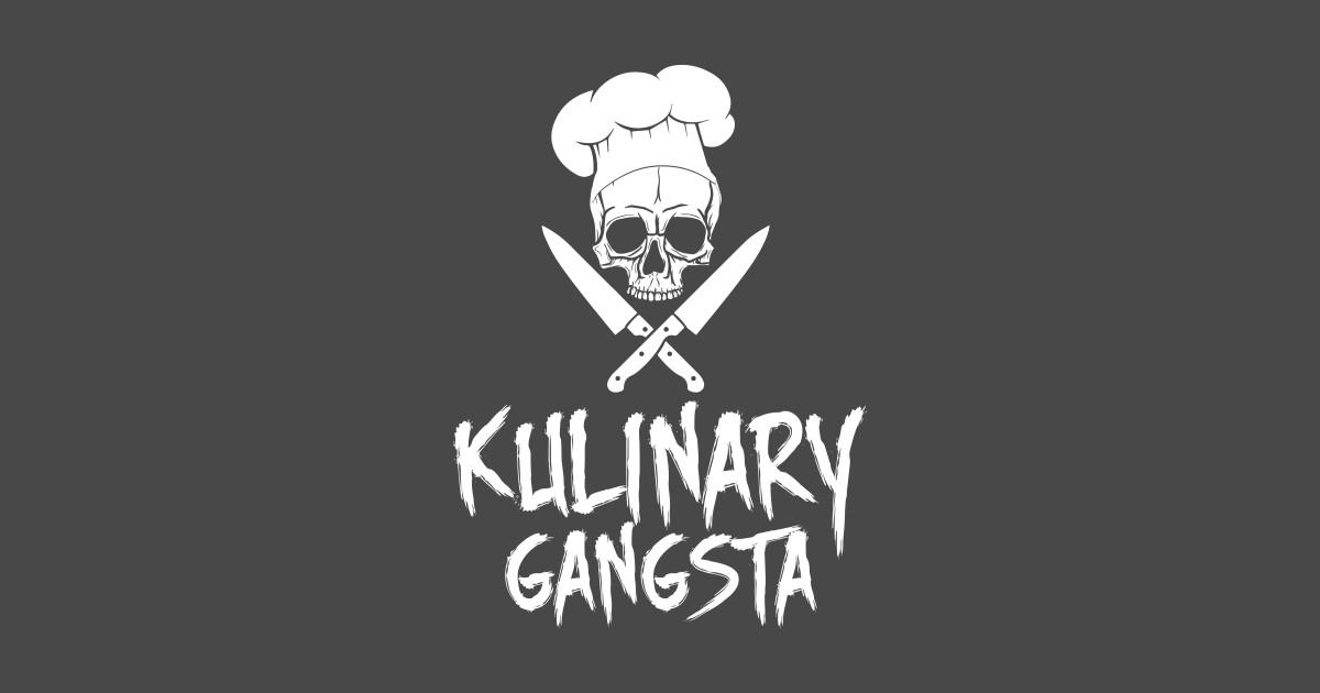 248ce0f40 Kulinary Gangsta - Culinary Chef Gangster T-Shirt