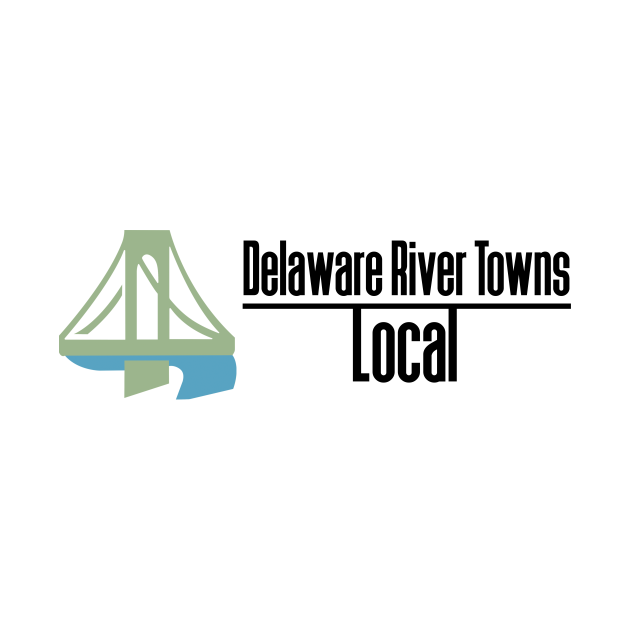 Delaware River Towns Local Logo - Black Text
