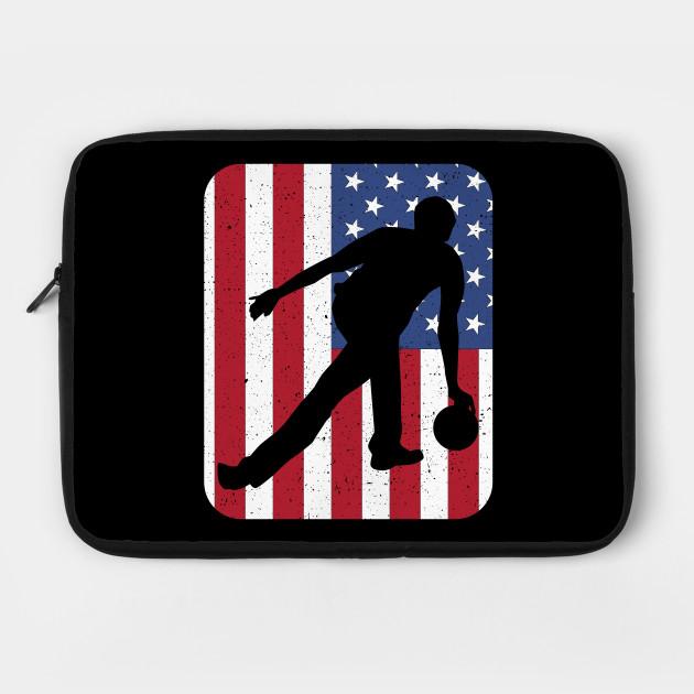 American Flag Bowling Bowler Gift