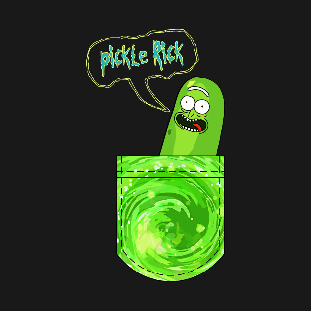 Pocket Pickle Rick