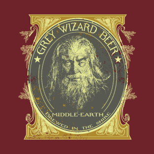 GREY WIZARD BEER t-shirts