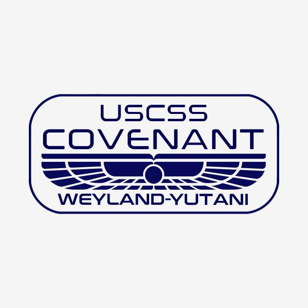 USCSS Covenant crew tee