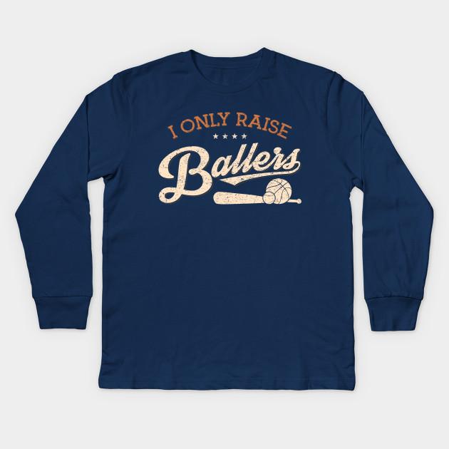 5474a5edb51b Mothers Day Women Shirt Only Raise Ballers | Baseball TShirt ...