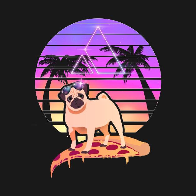 Pizza Pug - Miami Slice