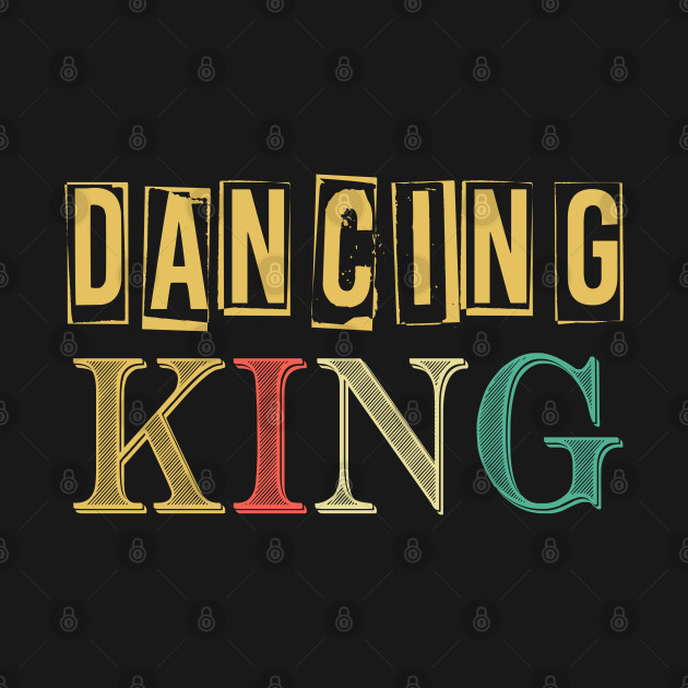 Vintage Disco King 80'Retro Themed Design