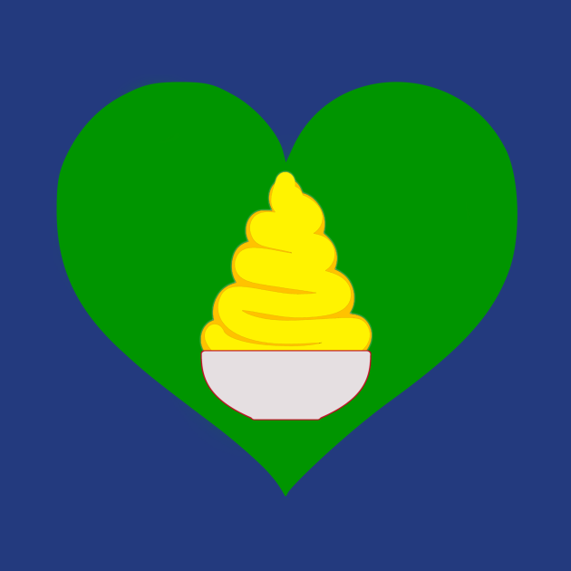 Pineapple Whip Is In The Heart