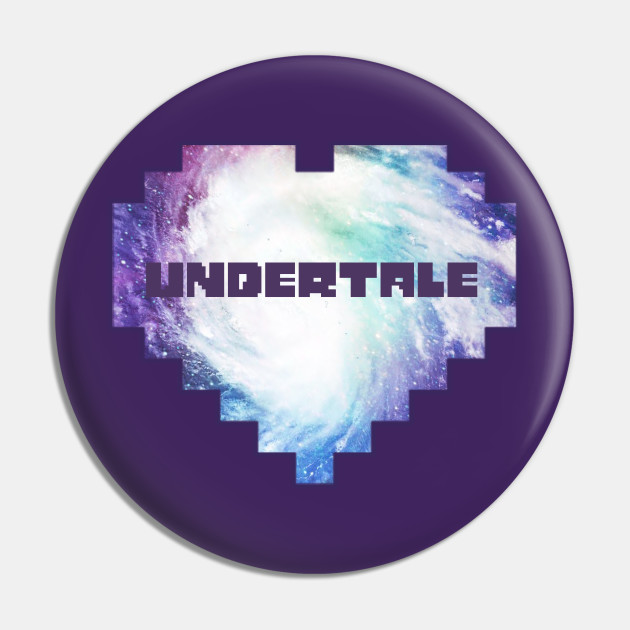 Undertale Logo Undertale Pin Teepublic