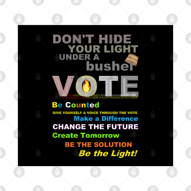 VOTE - Be Counted
