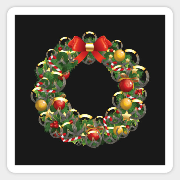 Overwatch Logo Multiface Christmas Wreath Overwatch Sticker