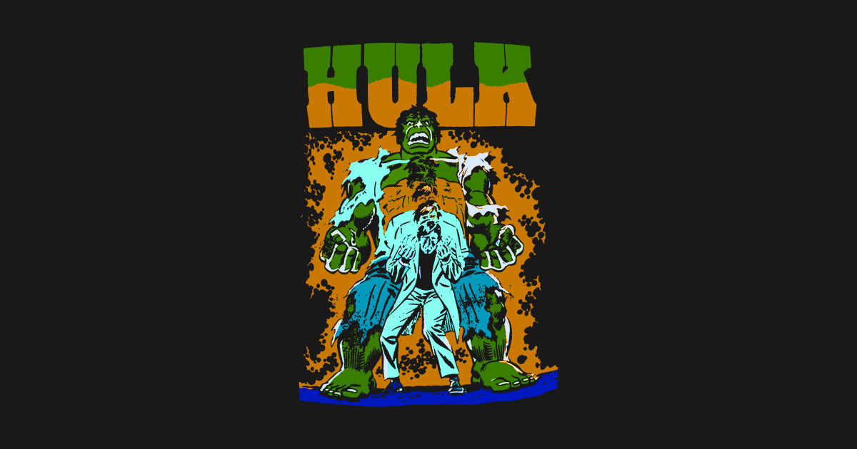 Incredible Hulk Transformation - Heroes - T-Shirt | TeePublic
