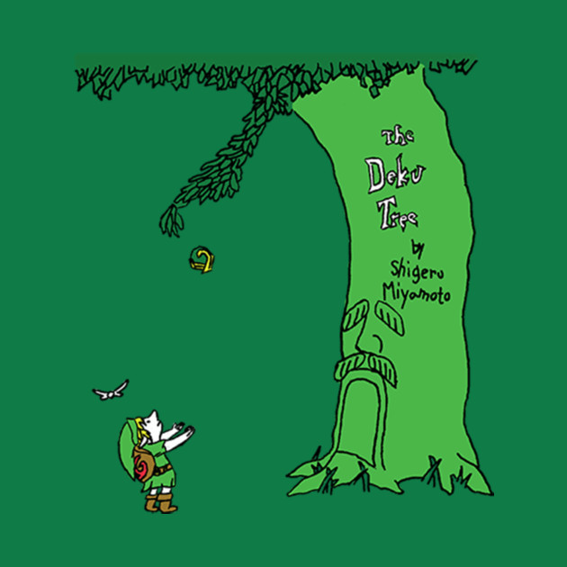 The Deku Tree - Link - T-Shirt