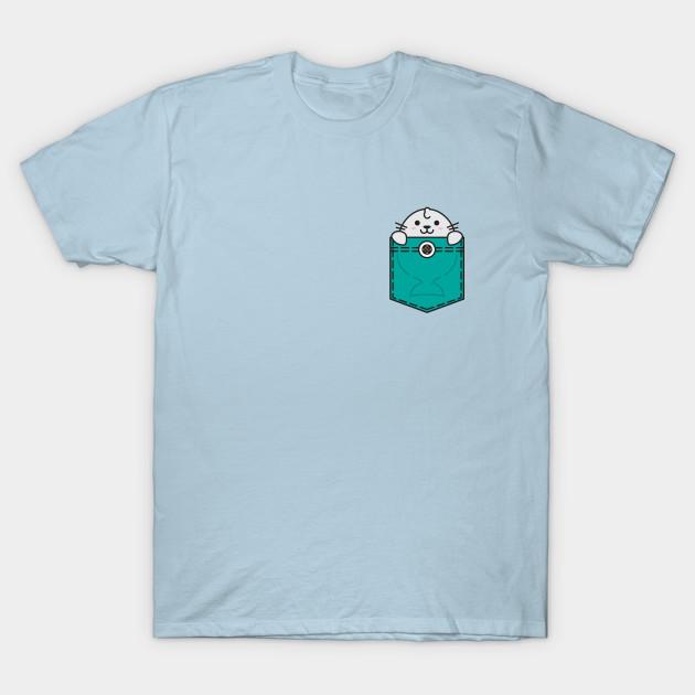 14168c5c Pocket Sea Lion - Sea Lion - T-Shirt | TeePublic