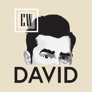 EW, DAVID! t-shirts