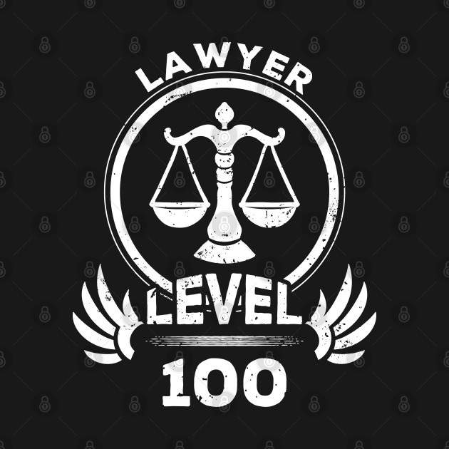 Level 100 Lawyer Gift For Lawyer