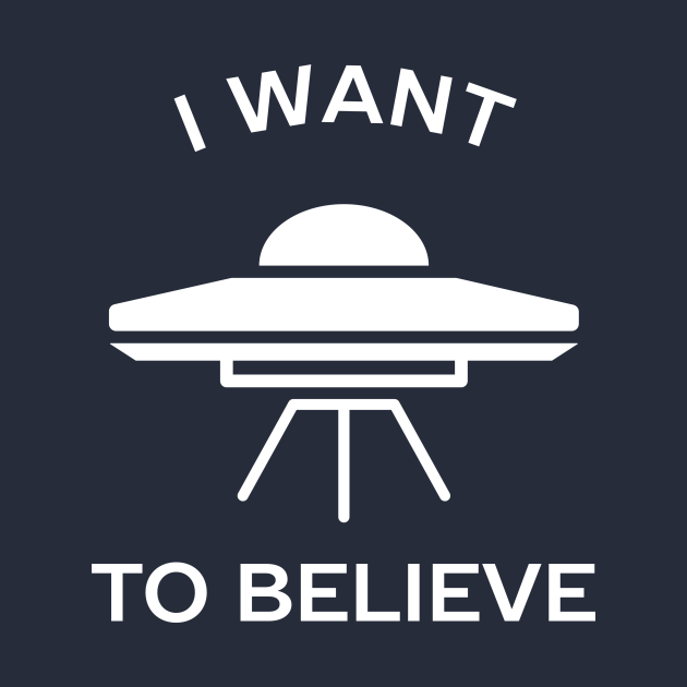 I want to believe in aliens t-shirt
