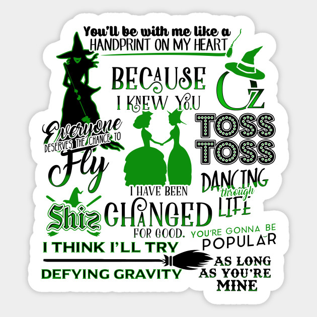 Wicked Musical Quotes