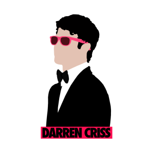 Darren With Pink Shades t-shirts