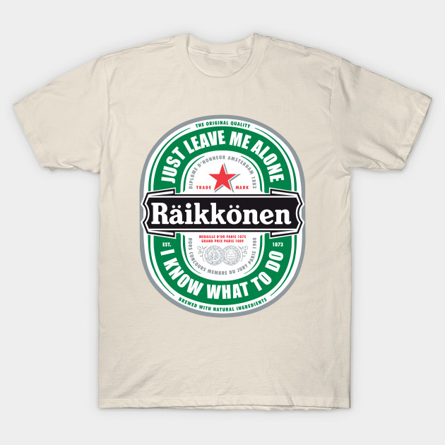 raikkonen logo quotjust leave me alone i know what to do