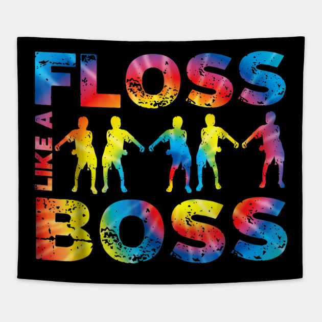 Floss like a boss shirt tie dye dance move tee gift floss like a 2847362 0 ccuart Image collections