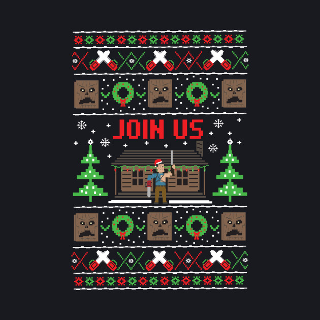 Evil Dead Ugly Sweater
