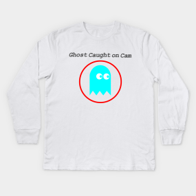 0b7b3424 Pacman Ghost Kids Long Sleeve T-Shirts | TeePublic