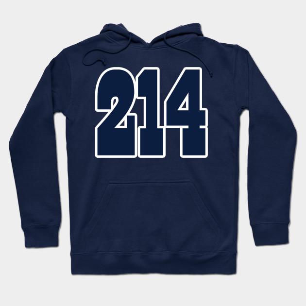 5cbd07a57a5 Dallas LYFE the 214!!! - Dallas Cowboys - Hoodie | TeePublic