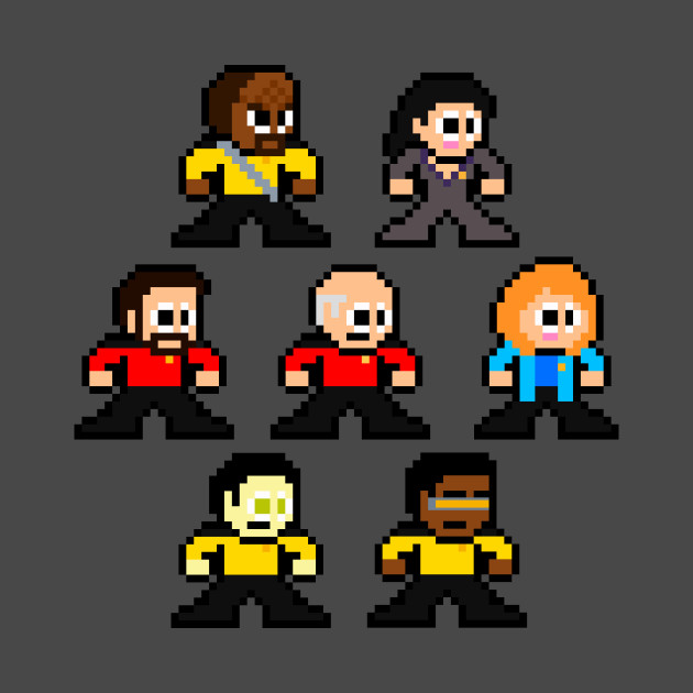 8-bit Star Trek: The Next Generation