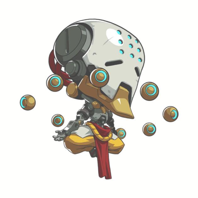 Overwatch Zenyatta Cute Spray