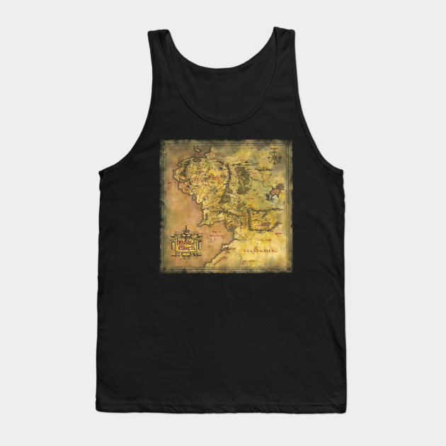 Middle Earth Tank Top