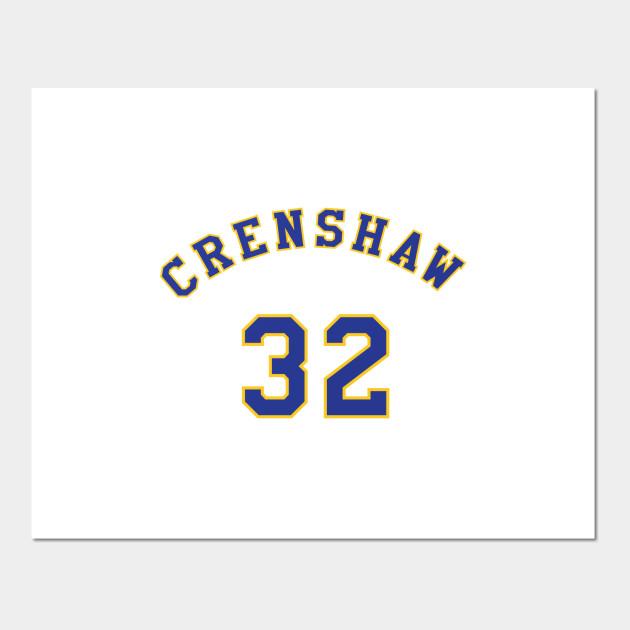 Monica Wright 32 Crenshaw High School Basketball Shirt - Crenshaw ... bab574a5b