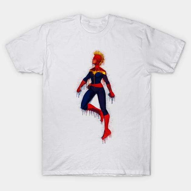 5cedd6237c96 Captain Marvel - Carol Danvers - Captain Marvel - T-Shirt   TeePublic
