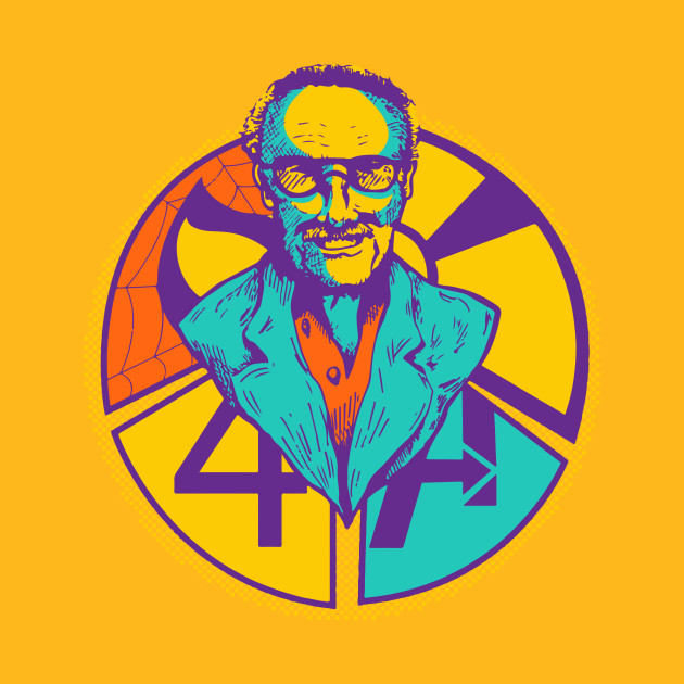 Stan Lee POP Art Face