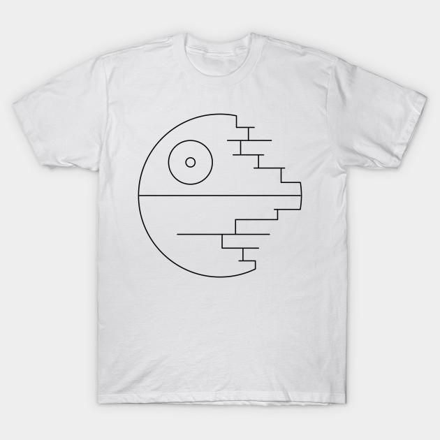Dinkarville Insist Festival  Star Wars: Death Star Destroyed - Simple Graphic - Death Star - T-Shirt |  TeePublic