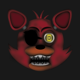 Old Foxy (Five Nights at Freddy's 2) t-shirts