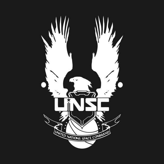 unsc logo halo 4 clean logo in white unsc logo halo 4 onesie