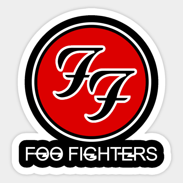 Foo Fighters Us Band Rock Tour Album Dave Grohl Parody Sticker