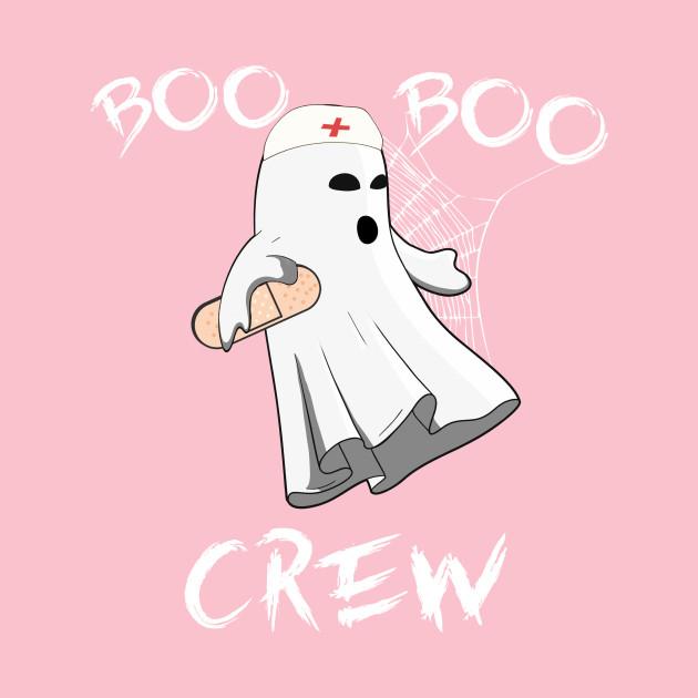 Boo Boo Crew Nurse Ghost Halloween costume perfect gift