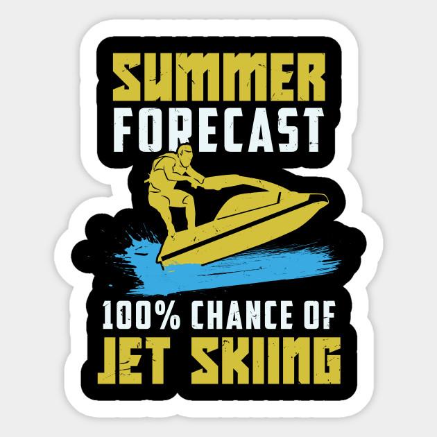 Funny Jet Ski Skiing Jetski Riding Gift Jet Ski Sticker Teepublic