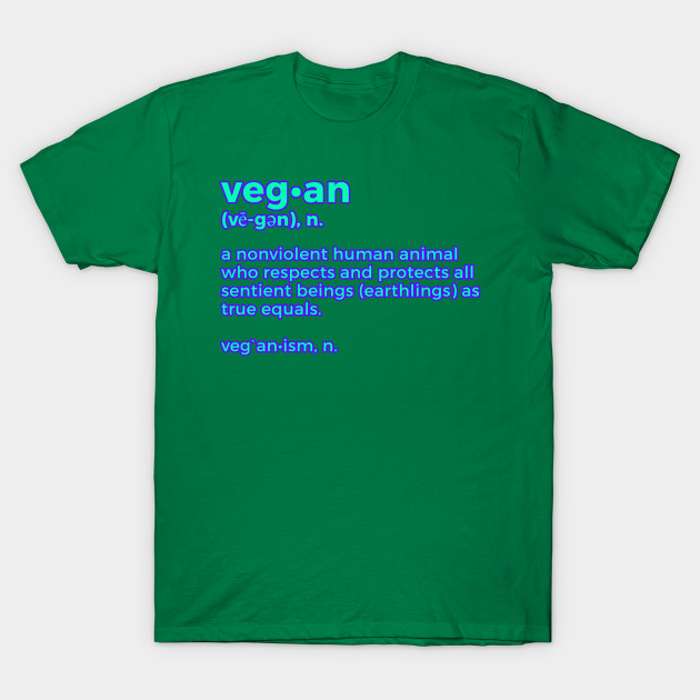 veg an definition veganism t shirt teepublic