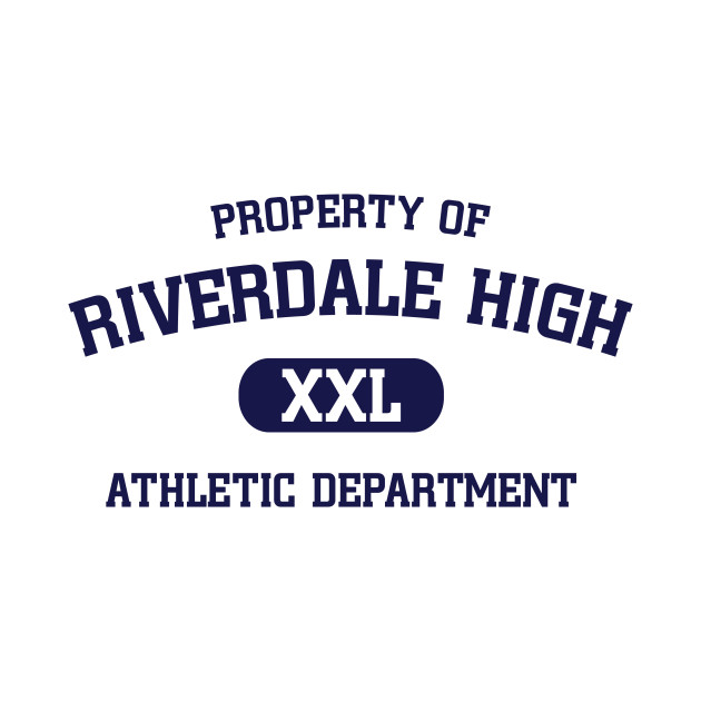 Riverdale property of riverdale high athletic department for Property of shirt designs