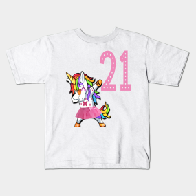 21st Birthday Party Kids T Shirts