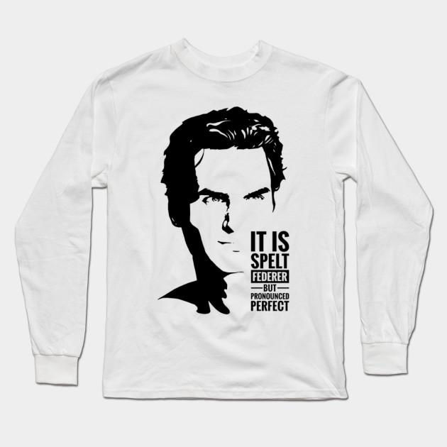 055103d9 Roger Federer - Tennis Roger Federer - Long Sleeve T-Shirt | TeePublic