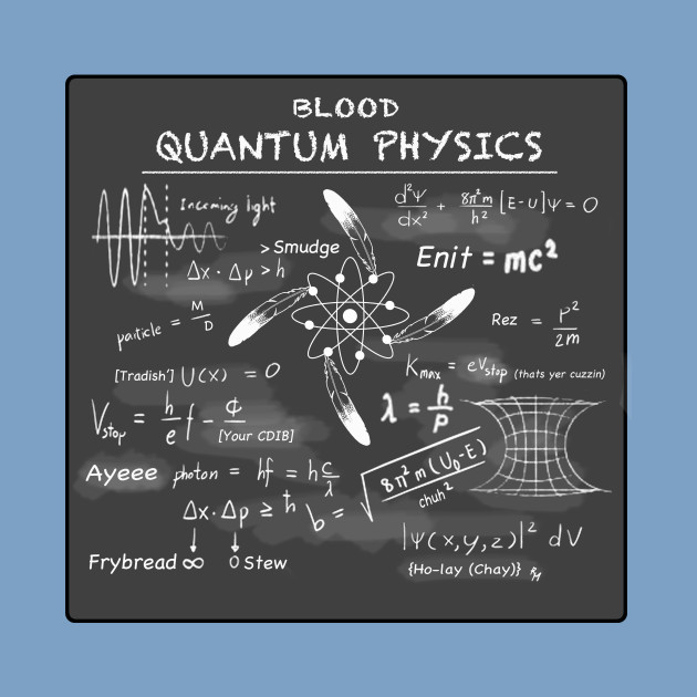 Blood Quantum Physics