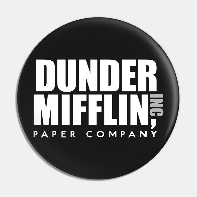 Dunder Mifflin Inc Paper Company Office Logo - The Office ...